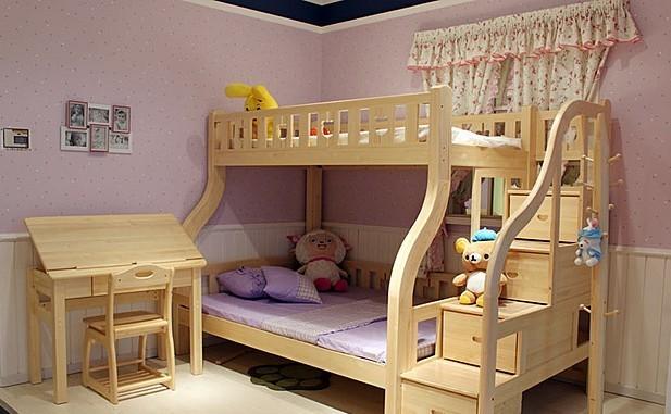 一:进口松木儿童上下床