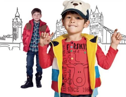 潮流杉杉品牌童装专注孩子的时尚生活