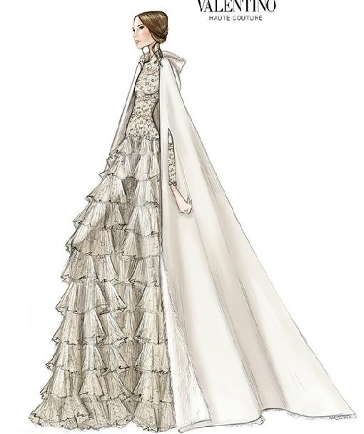 for How to become a wedding dress model