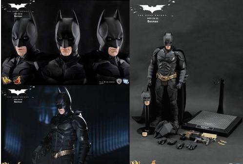 hot toys推出蝙蝠侠75周年纪念版玩具
