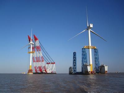 """美国""""试水""""发展海上风电场"""