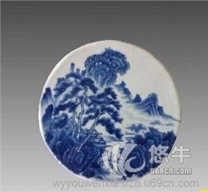 供应找生产青花瓷片的厂家,景德镇青花瓷,陶瓷瓷板厂,小瓷板批发