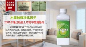 供应木童甲醛清除剂触媒净化因子室内空气净化喷雾