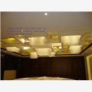 供应凯锐A005吸顶灯 方形水晶灯工程灯 酒店别墅水晶灯