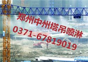 供应塔吊喷淋设备,塔吊喷淋降尘系统认准郑州中州塔吊高空喷淋
