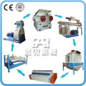 大型饲料工程设计安装,畜禽饲料颗粒生产线,溧阳饲料机械
