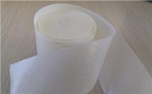 供应12cm/米宽白色水刺布胶带(网孔)