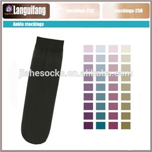 供应短丝袜 广州丝袜厂短丝袜贴牌定制 女丝袜短丝袜