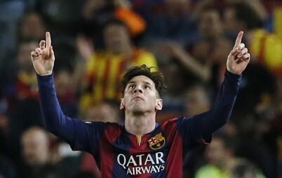 梅西经典进球,梅西进球图片,c罗跪送梅西进球