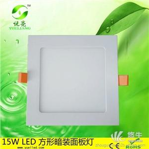 供应深圳灯LED小面板灯暗装办公照明超薄防眩led筒灯小面板灯
