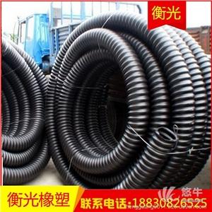 厂家直销pe碳素管桥梁穿线管HDPE碳素波纹管螺纹管