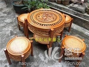 供应龙凤台五件套藤椅茶几五件套图片价格