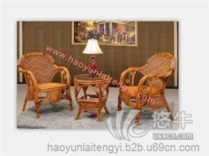 供应酒店餐厅桌椅家具厂家拧藤椅好运来藤椅