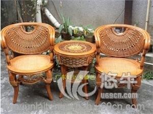 供����珠椅三件套藤椅三件套家具�S�r直�N