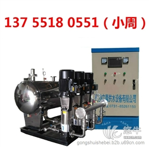 供应广东省清远小区二次供水/学校供水设备公司