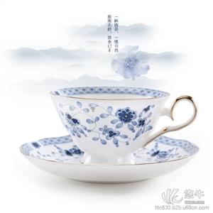 陶瓷广告杯,礼品杯子,定做骨质瓷套杯