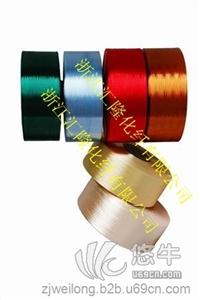 供应汇隆新材600D有色涤纶长丝FDY环保型