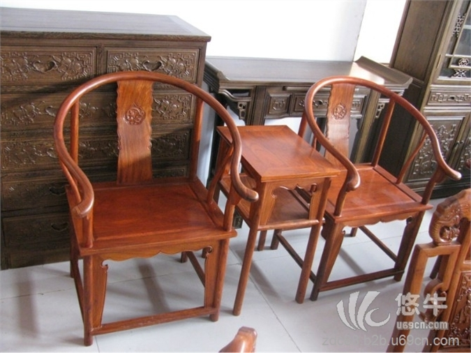 红木圈椅价格_图片_厂家