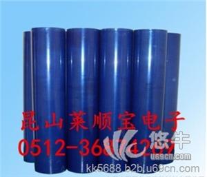 供应工业胶带蓝色静电自粘膜蓝色无胶自粘膜