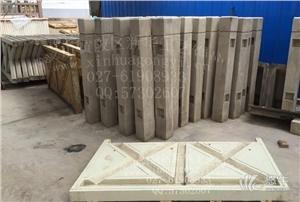 供应桥梁仿木纹护栏模具 仿木河堤护栏模具仿木纹栏杆模具
