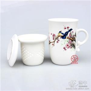 供应景德镇三件套陶瓷茶杯