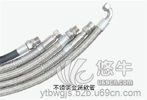 供应衬四氟固定法兰式金属软管产品结构