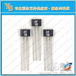 供应YS277厂家直销霍尔IC双极性霍尔传感器4脚插件集成电路