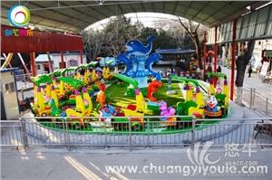 许昌创艺游乐供应——效益好的游乐设备香蕉火车