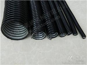 供应山东DN20波浪状防水包塑电缆套管,福莱通光纤光缆金属包塑管 柔性好