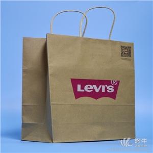 供应白卡纸彩印手机购物袋可定制logo时尚饰品装饰袋小礼物手提纸袋