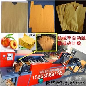 供应伟明ZDJ-DS-V全自动桃子果袋机