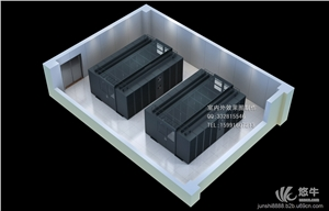 精密手印台 产品汇 供应西安机房效果图制作|机房轴测图|精密空调