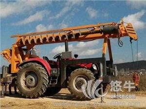 供应拖拉机吊车参数视频霸州得力吊钻一体机厂家拖拉机挖坑机