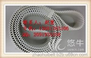 供应PU同步带聚氨酯DT10双面齿同步带灰色印刷包装机械设备厂家定制