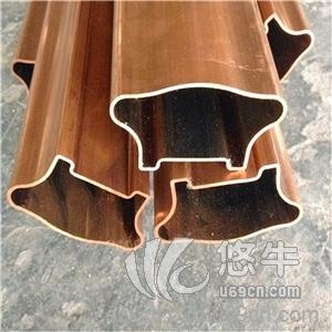 供应专业定做H62异形黄铜管材耐磨低铅黄铜装饰管