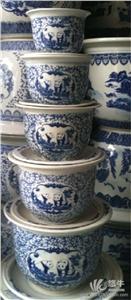 供��陶瓷套件花盆定做陶瓷迷你花盆