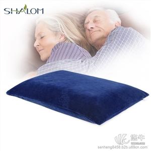 纤维枕 产品汇 供应淳梦中老年人竹炭护颈椎枕保健枕慢回弹记忆枕头枕芯***助睡眠