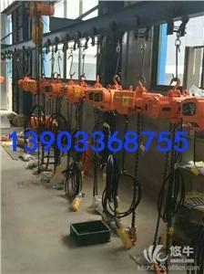 供应吉林国产高速环链电动葫芦厂家-5吨运行式高速电动葫芦
