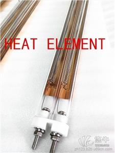 供应中波镀金加热管中波双孔红外线加热管