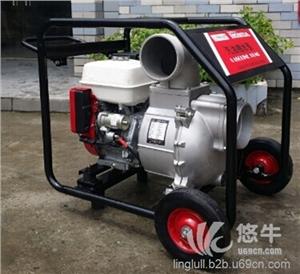 供应翰丝6寸汽油自吸立式抽水灌溉泵