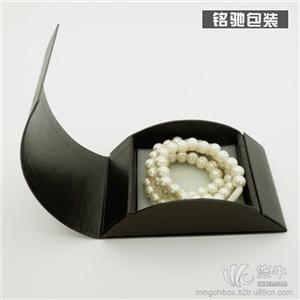 供应饰品包装盒仿皮手链手镯包装盒创意纸质首饰盒
