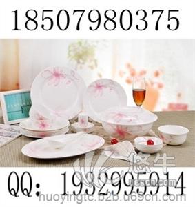 供应骨瓷套装餐具生产