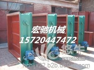方形金属盒 产品汇 供应宏驰齐全烟道中调节介质流量电动方形风门