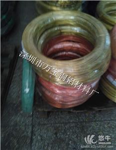 供应生产h85首饰黄铜线_H65四方铜线_电器黄铜扁线