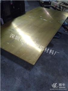 供应洛铜H62黄铜大板,超宽黄铜板,1M宽冷轧黄铜板