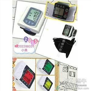 供应颜色表示血压高低全自动腕式臂式血压计品牌血压