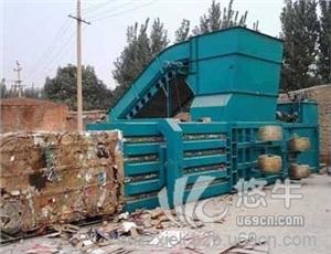 供应锦州便捷快速废纸箱打包机协力卧式打包机