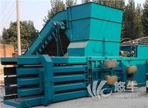 供应营口常见废纸打包机协力卧式废纸箱打包机