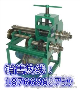 供应山西长治多功能立式滚动式电动方管圆管弯管机钢管弯圆机五金钳工工具