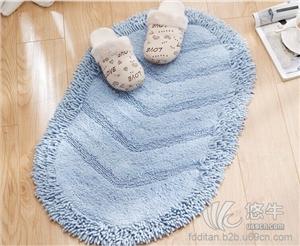 供应高档纯棉雪尼尔地垫门垫厨房地毯